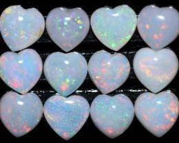 3.55 cts  Parcel 12   Australian Heart Fire Opal   FE 908