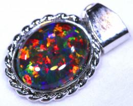 6.08CTS   MAN MADE  PENDANT   RJA-1636   Rarejewelry