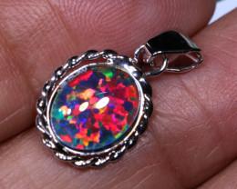 6.07CTS   MAN MADE  PENDANT   RJA-1643   Rarejewelry