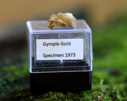 Collectors 1973 Gympie quartz Gold Specimen LGN 4-16