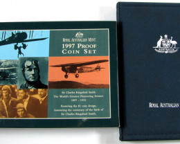 RAM  1997 PROOF COIN SET CHARLES KINGSFORD SMITH