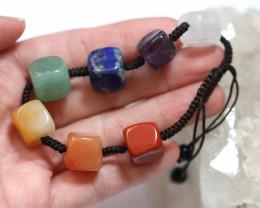 7 stylish Square Stone Chakra Bracelet code AHA 1576