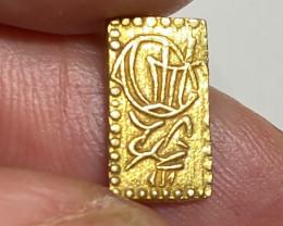 MEIJI DYNASTY MANEN NISHUBAN GOLD COIN 1860   code  JCC