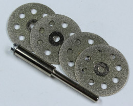 4 PIECE SANDING DISK FOR ALL STONE WORK HSF