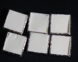 Australian made gem Square white  boxs parcel of 6 boxs