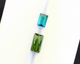 1.40 Carats Natural Tourmaline Cut Stone from Afghanistan