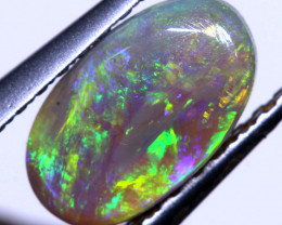 N5 -0.75 cts Dark Opal Stone L. Ridge  AO-528  australiaoutbackopal