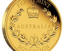 Australia Half  Sovereign 2016 Gold Proof Coin 91.67 Gold
