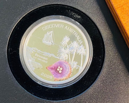 Discover Australia 2006 Broome 1oz Silver Coin99.9% pure silver