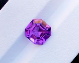 4.50 Carats Natural  Amethyst Cut Stone