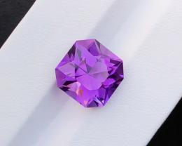 9.10 Carats Natural  Amethyst Cut Stone