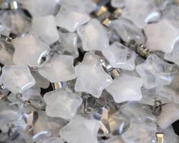 Wholesale 12 pieces Crystal  Pentagram Pendants  code CH 1210