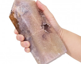1.26kg Natural Pink Amethyst Large Terminated Point DS900