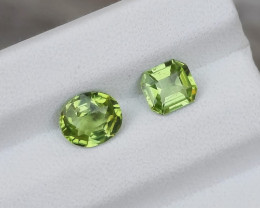 1.90 Carats Natural Peridot Nice Cut Gemstone
