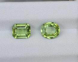 1.70 Carats Natural Peridot Nice Cut Gemstone