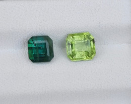1.90 Carats Natural Peridot Tourmaline Nice Cut Gemstone