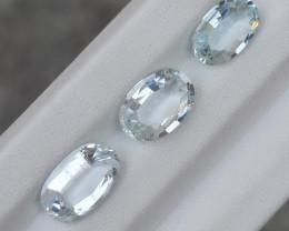 6.90 Carats Natural Aquamarin Nice Cut Gemstone