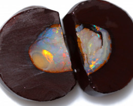 54.30 CTS YOWAH OPAL NUTS  - Natural Fracture  [AT172]
