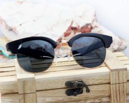 Unisex Ebony Wooden Eyewear - Sunglasses - SUN 02