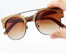 Vintage Glasses in Wooden Eyewear - Sunglasses - SUN 06