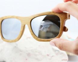 Polarized Bamboo Frame  - Sunglasses - SUN 23