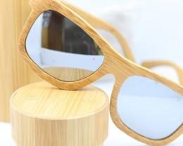 Polarized Bamboo Frame - Sunglasses - SUN 24