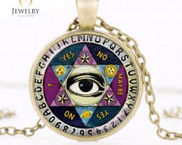 Illuminati Psychic Reader Spirit Ouija Board Pendant OPJ 2659
