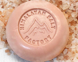 4 x Himalayan Salt Pink Flower Soap 70g