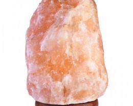 2-3kg Natural Shaped Himalayan Salt Lamp – Timber Base