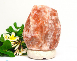 2-3kg Natural Shaped Himalayan Salt Lamp – Marble Base