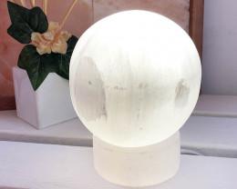 15cm Selenite Sphere Lamp