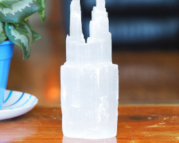 20cm Selenite Twin Tower 20 cm (No Hole)