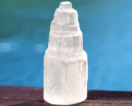 10cm Selenite Tower x 1 unit (No Hole)