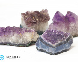 1.10 kilo Amethyst Cluster Druze Collection Box CF 212