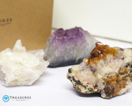 1.20 kilo Amethyst Cluster Druze Collection Box CF 229