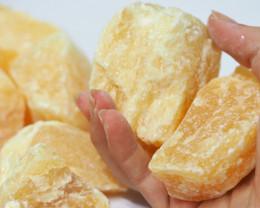 1.5 kilo Calcite Orange Rough CF 252 B