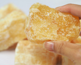 1.5 kilo Calcite Orange Rough CF 252 E