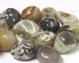 1 kilo Agate Banded River Stone CF 254 B