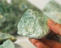 2 kilo Green Quartz Rough CF 259 C