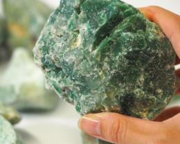 2 kilo Green Quartz Rough CF 259 E