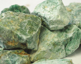 2 kilo Green Quartz Rough CF 259 F