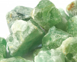 2 kilo Green Fluorite Rough CF 262 A