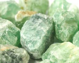 2 kilo Green Fluorite Rough CF 262 C