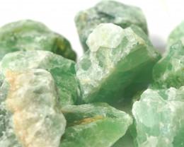 2 kilo Green Fluorite Rough CF 262 D
