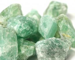 2 kilo Green Fluorite Rough CF 262 E
