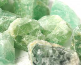 2 kilo Green Fluorite Rough CF 262 F