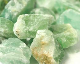 2 kilo Green Fluorite Rough CF 262 G