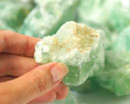 2 kilo Green Fluorite Rough CF 262 H