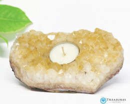 0.70 Kilo Natural  Beautiful Citrine Tea Light  CF 286