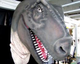 Massive  Tyrannosaurs Rex Head
